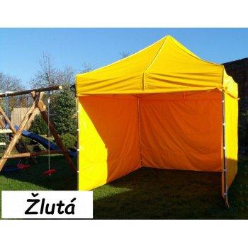 Zahradní párty stan PROFI STEEL 3 x 3 - žlutá