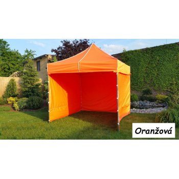 Zahradní párty stan PROFI STEEL 3 x 3 - oranžová