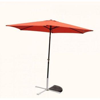 Slunečník 300 cm - terakota naklápěcí