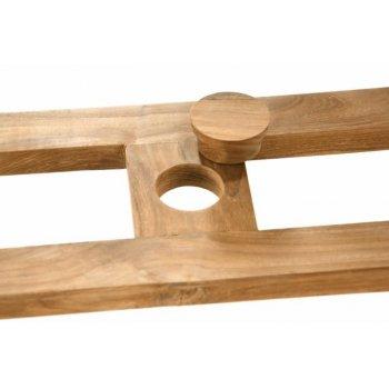 Rozšiřitelný zahradní stůl z týkového dřeva Garth , 170 - 230 cm