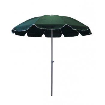 Zahradní slunečník - 2,5 m zelený