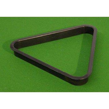 Trojúhelník plastový černý 57,2 mm