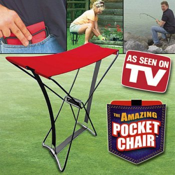 Přenosná rozkládací stolička s taškou