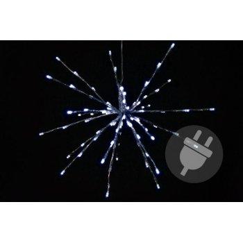 Vánoční osvětlení - meteorický déšť - studená bílá, 80 LED, 40 cm