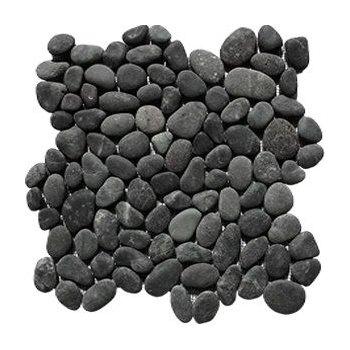 Oblázková mozaika Black Sumatra 1m2