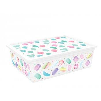 Plastový úložný box KIS C PORTOBELLO - L
