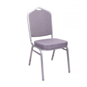 Banketová židle Malaga - šedá