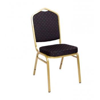 Banketová židle Malaga - černá