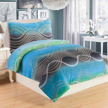 Mikroplyšové ložní prádlo STREAM