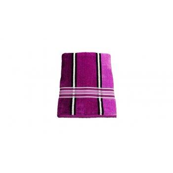 Osuška Rainbow - 70x140, fialová