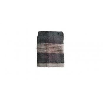 Ručník Paris - černá 50x100 cm
