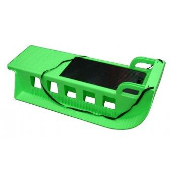 Kamzík - plastové sáně 05-A2043 - zelený
