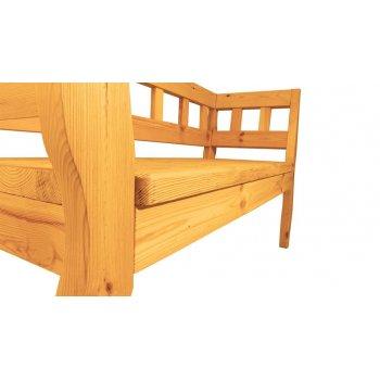 Zahradní RETRO lavice - 157 cm - BOROVICE