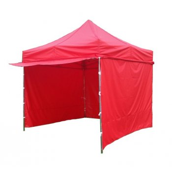 Zahradní párty stan PROFI STEEL 3 x 3 m - červená