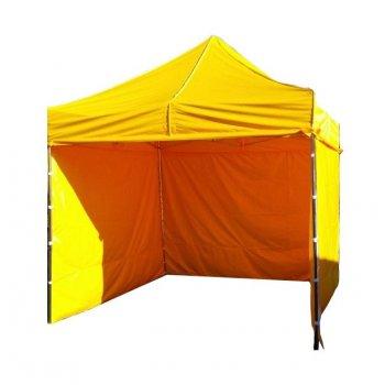 Zahradní párty stan PROFI STEEL 3 x 3 m - žlutá