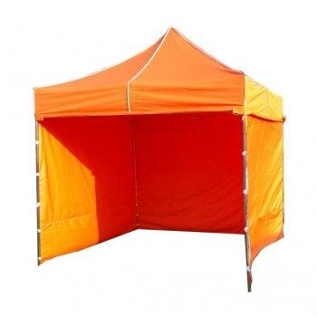 Zahradní párty stan PROFI STEEL 3 x 3 m - oranžová