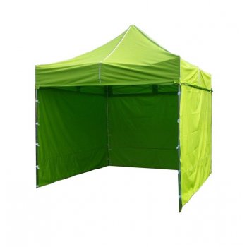 Zahradní párty stan PROFI STEEL 3 x 3 - světle zelená