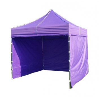 Zahradní párty stan PROFI STEEL 3 x 3 m - fialová