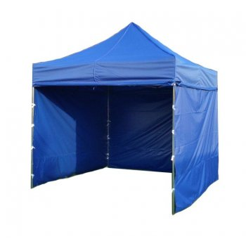 Zahradní párty stan PROFI STEEL 3 x 3 m - modrá