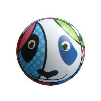 Potištěný míč panda - 220 mm