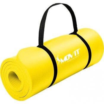 MOVIT Gymnastická podložka - 183 x 60 x 1 cm, žlutá