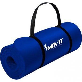 MOVIT Gymnastická podložka na jógu - 183x60x1 cm, modrá
