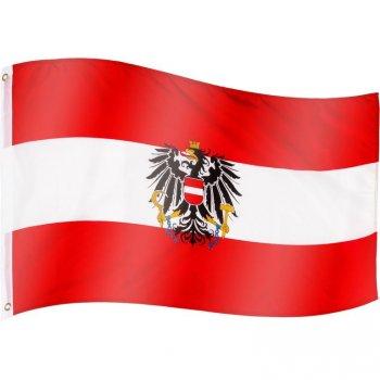 Vlajka Rakousko - 120 cm x 80 cm