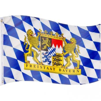 Vlajka Bavorsko - 120 cm x 80 cm