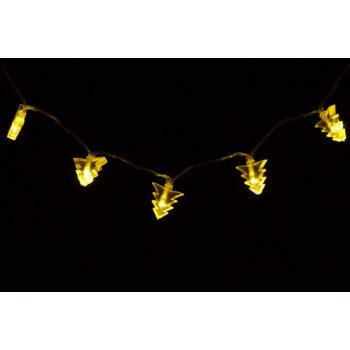 Vánoční osvětlení - vánoční stromky - teple bílé D01410