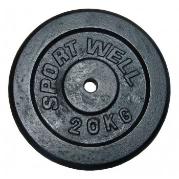litinové závaží 20kg - 30mm
