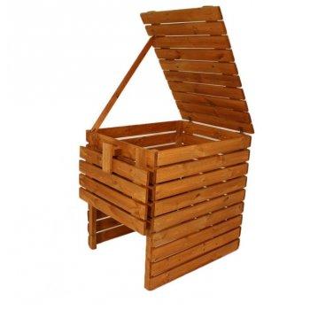 Zahradní dřevěný kompostér - 800l