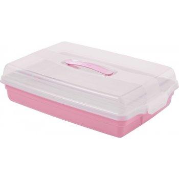 Plastový PARTY BOX - růžový