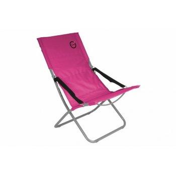 Skládací kempingová židle - růžová
