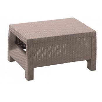 Zahradní stůl CORFU - cappucino