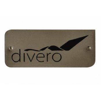 Odkládací týkový stolek DIVERO - 50 cm