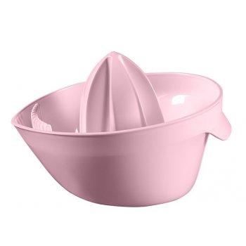 Plastový odšťavňovač ESSENTIALS  - růžový