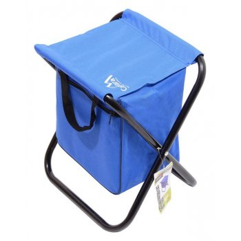 Kempingová skládací židle MALAGA - modrá
