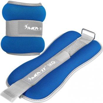 Neoprenové zátěžové manžety reflexní - 2 x 1 kg