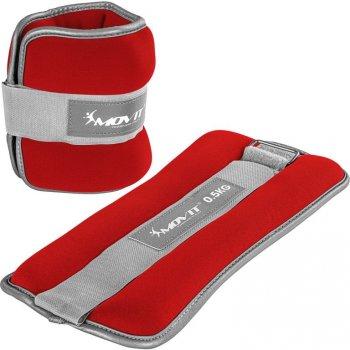 Neoprenové zátěžové reflexní manžety - 2 x 0,5 kg