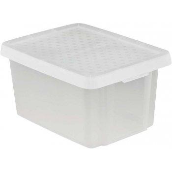 Úložný box s víkem 16L - transparentní CURVER