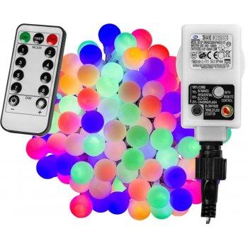 Párty LED osvětlení 10 m - barevné 100 diod + ovladač