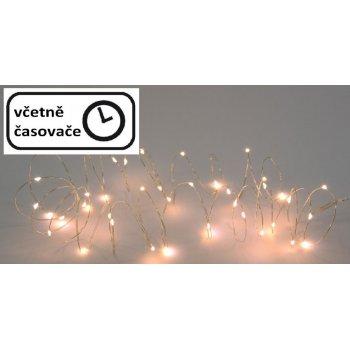 Vánoční LED osvětlení 4 m - 40 LED, teplá bílá