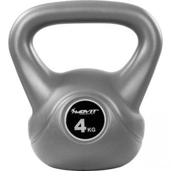 Kettlebell činka šedá - 4 kg