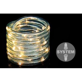 diLED světelný kabel - 40 LED, teple bílý