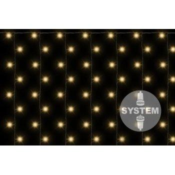 diLED světelný závěs - 200 LED, teple bílý