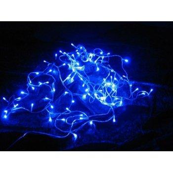 Vánoční LED řetěz - 9 m, 100 LED, modrý