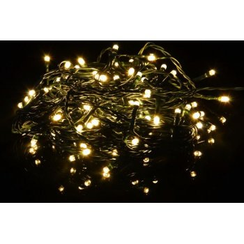Vánoční LED řetěz - 40 m, 400 LED, teple bílý