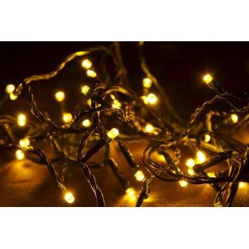 Vánoční LED řetěz - 4 m, 40 LED, teple bílý