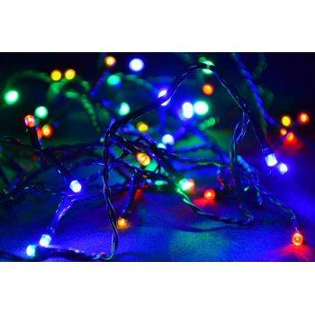 Vánoční LED řetěz - 4 m, 40 LED, barevný