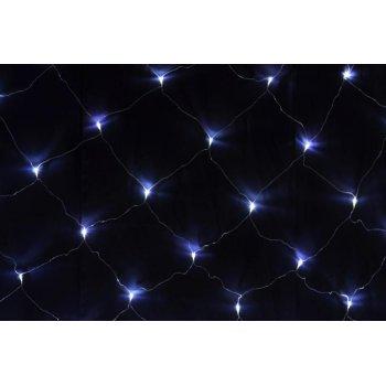 Světelný závěs s LED diodami - 3x3m, 128 LED, studená bílá